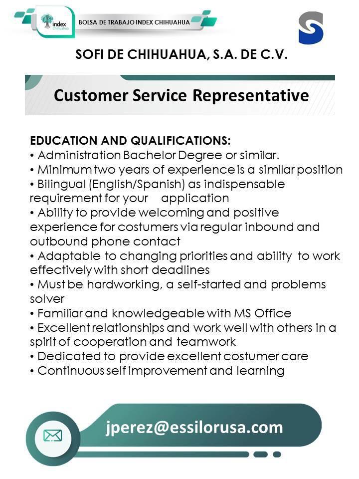 SOFI: Customer Service Representative