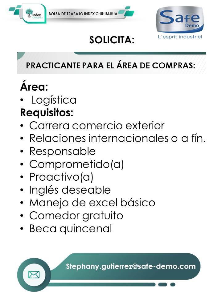 INDEX: Practicante Área de Compras