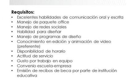 INDEX: Practicante de Comunicación y Recursos Humanos