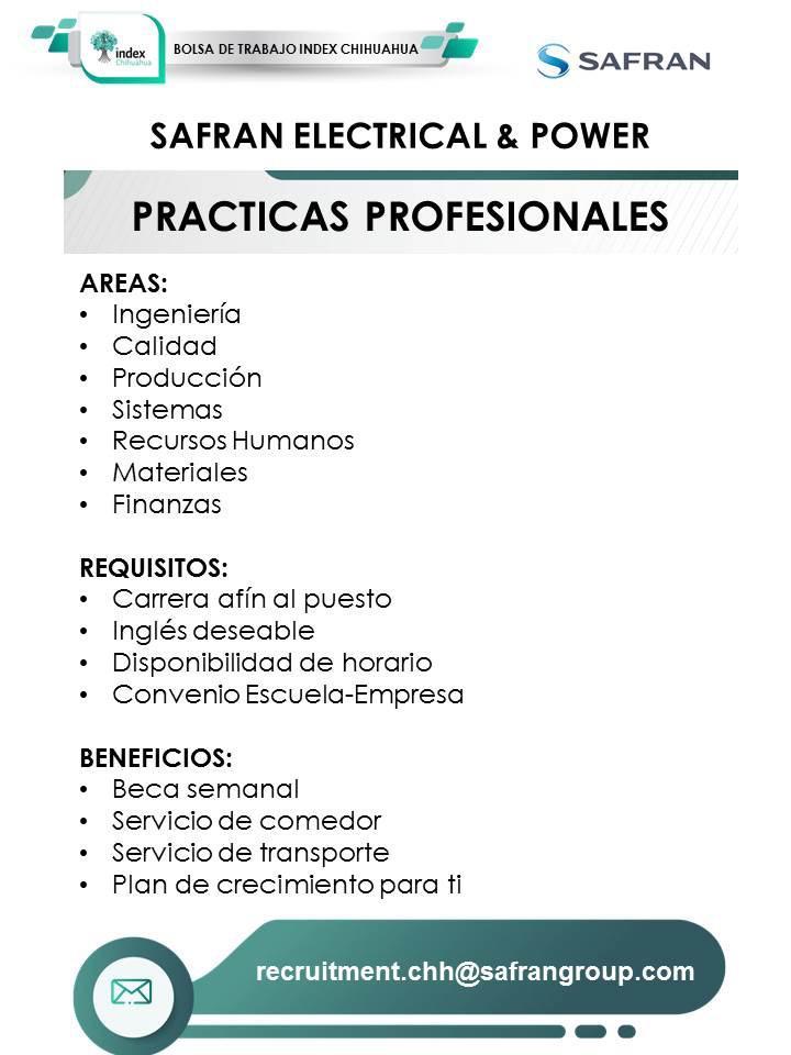 INDEX: Prácticas Profesionales