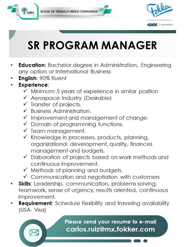 INDEX: Program Manager