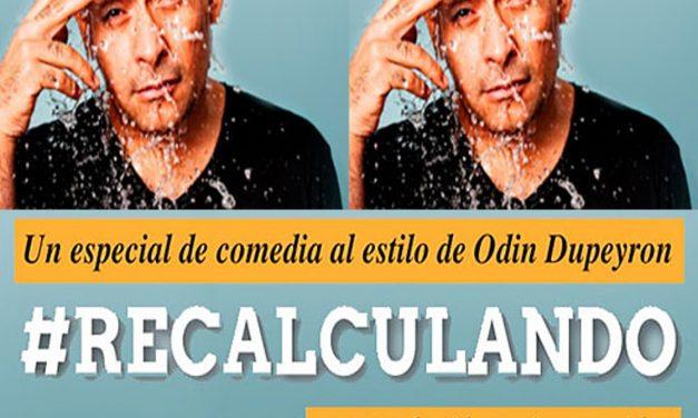 """PRESENTACIÓN ODIN DUPEYRON """"RECALCULANDO"""" / TEATRO DE LOS HÉROES / 8-FEB"""