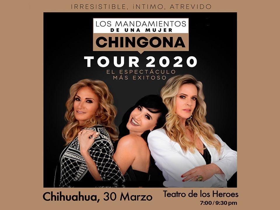 """""""LOS MANDAMIENTOS DE UNA MUJER CHINGONA"""" TEATRO DE LOS HÉROES / 30-MZO"""