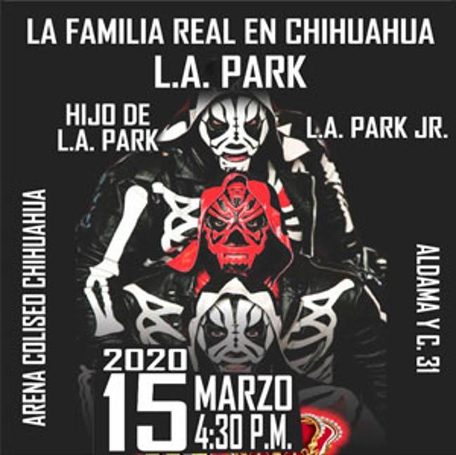 "evento ""homenaje a la parka""  / arena coliseo chihuahua / 15 mzo"