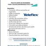 VACANTE PRACTICANTE DE INGENIERÍAS EN TELEFLEX