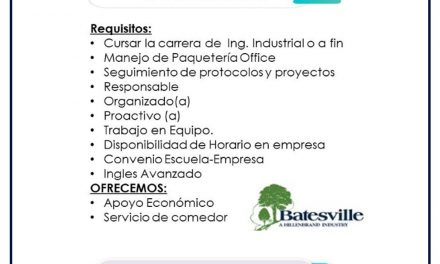 VACANTE PRACTICANTE DE SAFETY AND ENVIRONMENTAL EN GLOBAL PRODUCTS