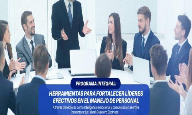 evento Curso: Herramientas para fortalecer líderes en el manejo de personal / centro empresarial / 19 mzo