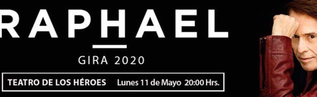 VACANTE CONCIERTO RAPHAEL / TEATRO DE LOS HÉROES / 11 MAYO