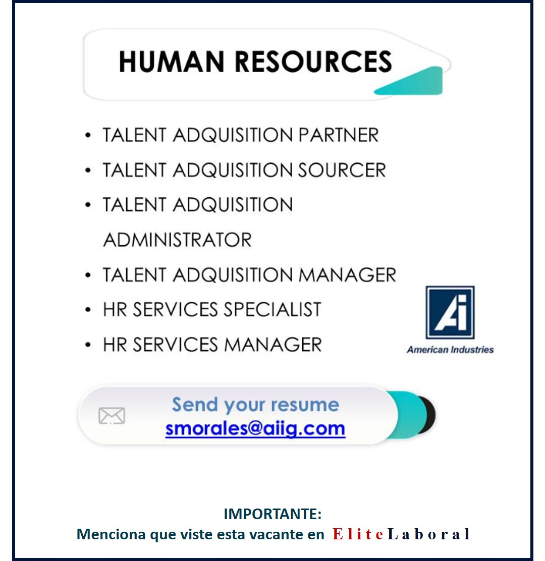 VACANTE HUMAN RESOURCES
