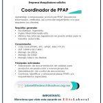 VACANTE COORDINADOR DE PPAP