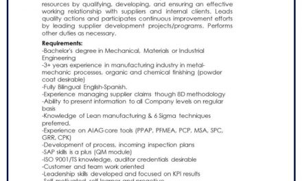 vacante sde engineer