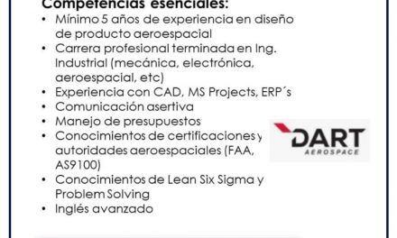 VACANTE SUSTAINING ENGINEER