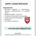 VACANTE SUPPLY CHAIN SPECIALIST