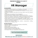 VACANTE HR MANAGER