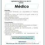 VACANTE MEDICO